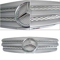 Декоративная решетка радиатора Mercedes W211 E-CLASS '03-06