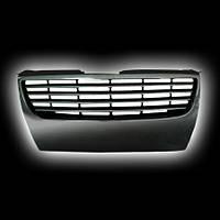 Декоративная решетка радиатора V.W.PASSAT  `06- черный хром