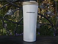 """Термос-чашка Starbucks """"Smart Cup"""" Белый , фото 1"""