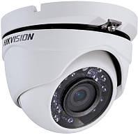 Видеокамера DS-2CE56C0T-IRM купольная на 1 МП Hikvision (2.8мм) формата HD-TVI