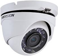 Відеокамера Hikvision DS-2CE56D0T-IRM купольна на 2 МП (3.6 мм) формату HD-TVI