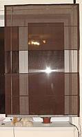 Римская штора Шоколад натуралка, фото 1