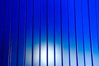 Профнастил стеновой ПС-8 синий, тол. 0,45 мм, фото 1