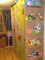 Шкаф купе  с фотопечать в детскую комнату