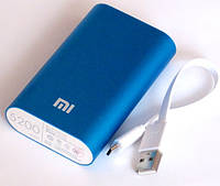 Универсальная батарея - Xiaomi power bank MI 2, 5200 mAh, blue, фото 1