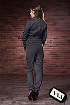 МА7346 Комбинезон трикотажный Серый, фото 3
