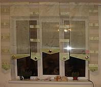Японские панельки Полоска салатова, фото 1