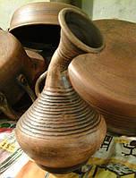 Глиняна ваза 15см