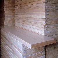 Деревянные ступени из бука 700х300х40 цельноламельные, фото 1