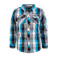 Рубашка для мальчиков,Glostory, размеры 104,116,122, арт. 9768