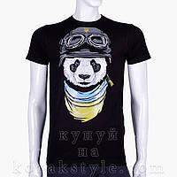Патріотична футболка з пандою
