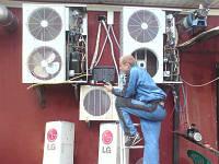 Замена компрессора свыше 10 кВт (кондиц/встроенный холод)