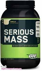 Гейнер Serious Mass (1,36 кг) Optimum Nutrition