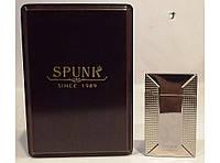 Подарочная зажигалка SPUNK  в деревянной упаковке алPZ36193