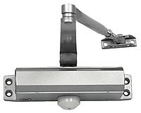 SIBA Дверной доводчик 80-120 кг. цвет - серебристый.