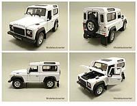 Модель машины 1:24 Land Rover Defender Welly 22498