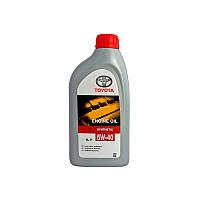 Масло моторное toyota 5w-40 sm/cf, 1л (производство TOYOTA ), код запчасти: 0888080836