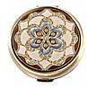 Стильное карманное косметическое зеркальце LEIF LOWE 272830AB