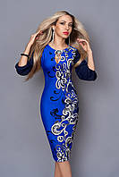 Элегантное сдержанное платье