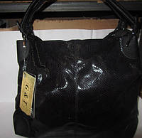 Женская сумка из эко кожи под змею 2016
