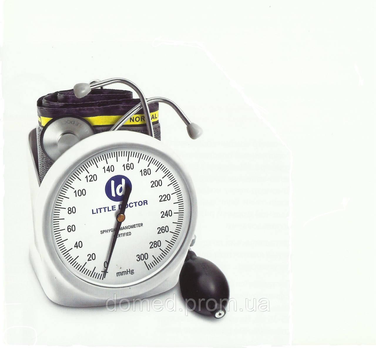 Тонометр механический на плечо Little Doctor LD-100 профессиональный настольный тонометр