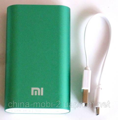 Универсальная батарея - Xiaomi power bank MI 2, 5200 mAh, green