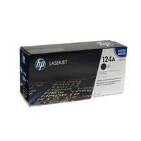 Картридж тонерный HP 124A для CLJ 1600/2600/2605 Black (Q6000A)