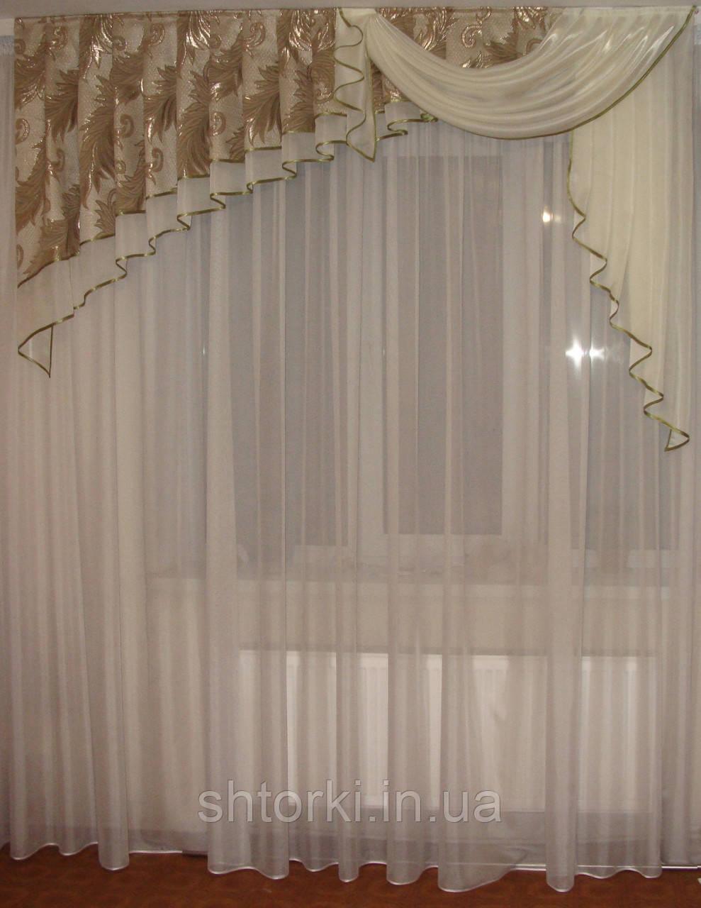 Ламбрикен Ассиметрия 2м оливковобежевый