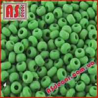 Бисер Preciosa 10/0 #53250 матовый - зеленый