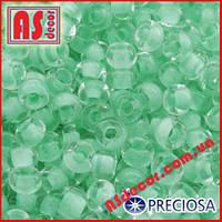 Бисер Preciosa 10/0 #38352 - зеленый матовый
