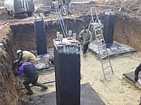 Поставка и монтаж бетонных фундаментов Ф5-4 для вышек : электропередач, сторожевых, прожекторных, отзывы Заказ