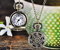 Женские винтажные малые (2,5см) часы подвеска