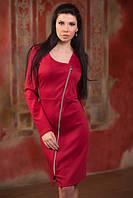 Стильное платье с косой змейкой, фото 1