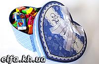 Жвачки Love is в подарочной коробке 100 шт