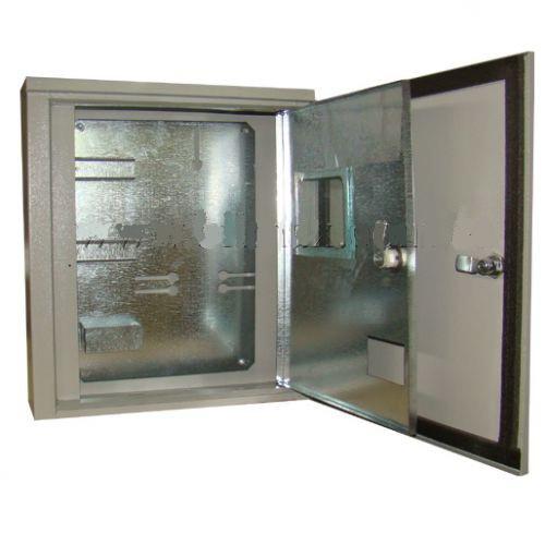 Ящик учета ЯУР-3Г-12, ІР54, 2 двери, навесной под 3ф, 12 групп, ШхВхГ 400х445х150, Билмакс