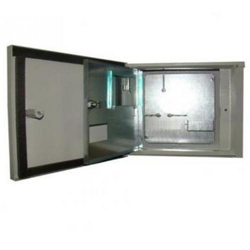 Ящик учета ЯУР-1А-4, ІР54 антивандальний, 2 двери, под 1ф, 4 группы, ШхВхГ 360х310х150, Билмакс