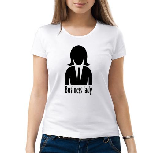 Женская футболка «Деловая парочка (ж)»