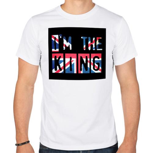 Мужская футболка «Британский король»