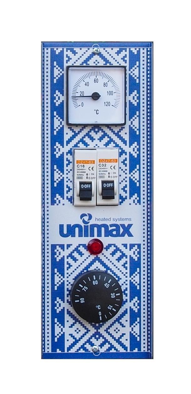 Котел електричний Unimax 6 кВт/380 з циркуляційним насосом в комплекті