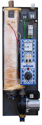 Котел электрический Unimax 6 кВт/220 с циркуляционным насосом в комплекте, фото 2