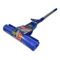 Швабра с отжимом и телескопической ручкой
