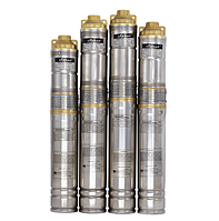 Скважинный насос SPRUT QGDа 1,5-120-1.1kW + пульт