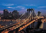 """Фотообои """"Манхэттонский мост 140х196""""                                                                 Роллес"""