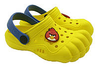 Детская обувь по типу кроксы (24-29) пальцы.