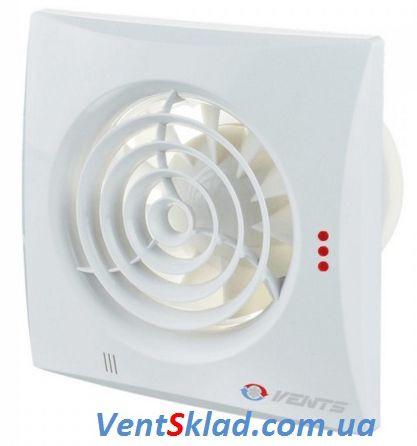 Вытяжной вентилятор Вентс 150 Квайт ВТ с шнурковым выключателем и таймером