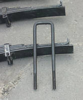 Стремянка  рессоры с гайками тракторного прицепа 2ПТС4 887А-2912408