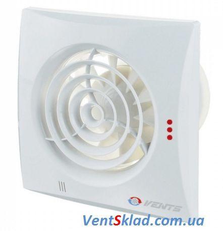 Вытяжной вентилятор Вентс 150 Квайт Экстра ТН с датчиком влажности