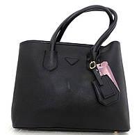 Стильна вместительная женская сумка Кожзам , фото 1