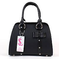 Маленькая дамская сумочка черная женская №1339m