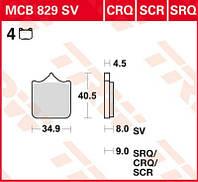 Колодки тормозные BMW S1000RR комплект TRW / Lucas MCB829SV